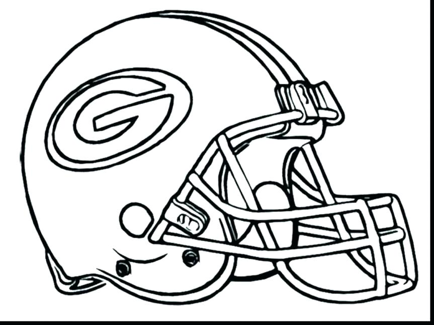 863x647 Printable Football Coloring Pages Sports Coloring Page Printable