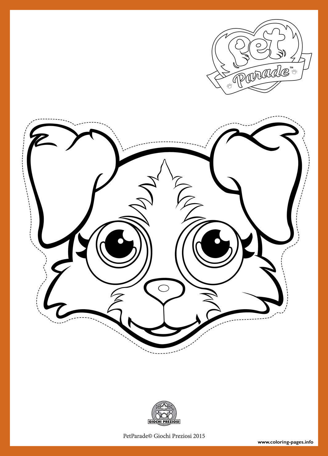 1065x1479 Fascinating Pet Parade Cute Dog Border Collie Coloring Pages