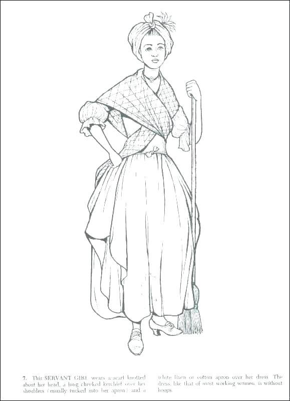 579x800 Colonial Coloring Pages In A Colonial Village Coloring Pages Kids