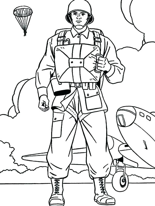 600x798 Colouring Pages Army Soldiers Kids Coloring Soldier Pictures