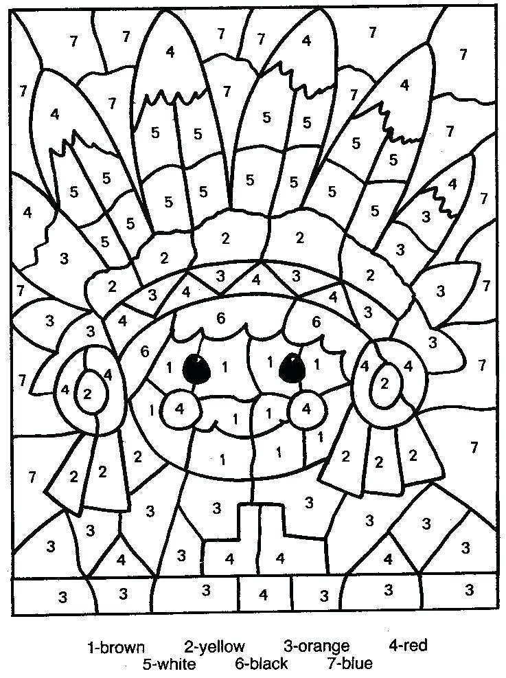 737x987 Numbers Coloring Pages Number Worksheets Numbers Coloring Pages
