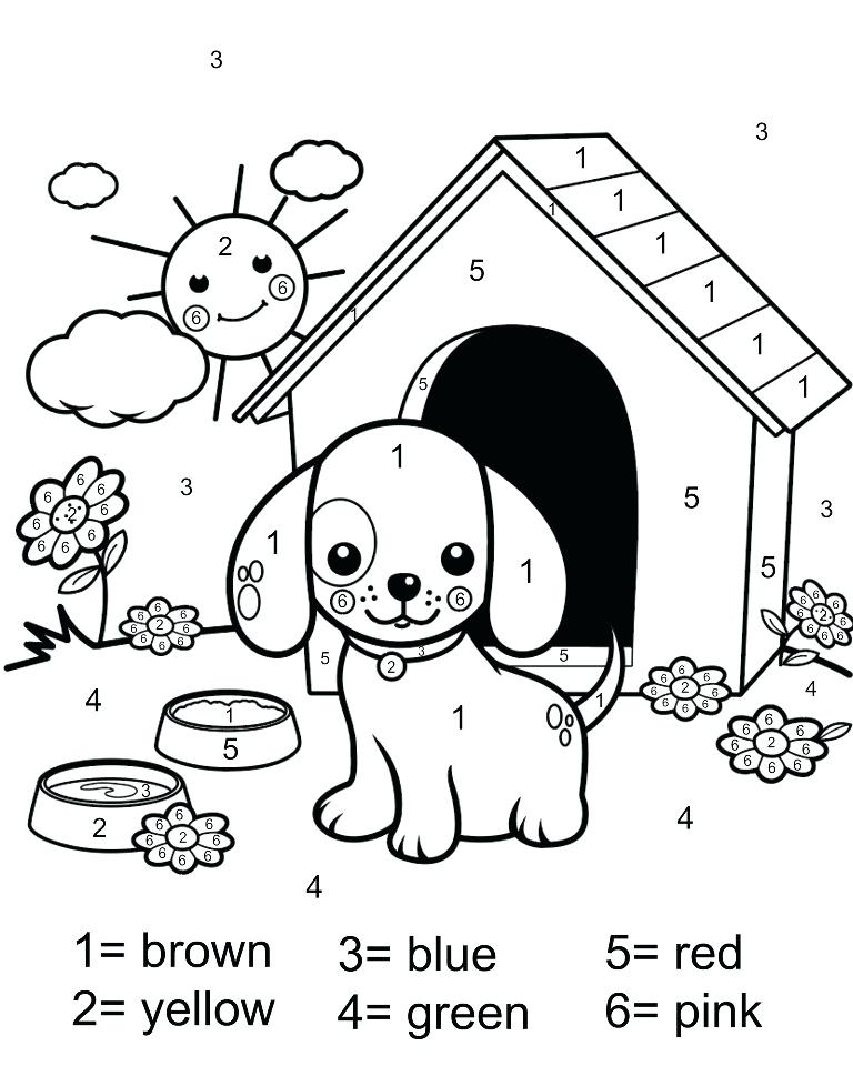 768x960 Printable Number Coloring Pages Printable Number Coloring Pages