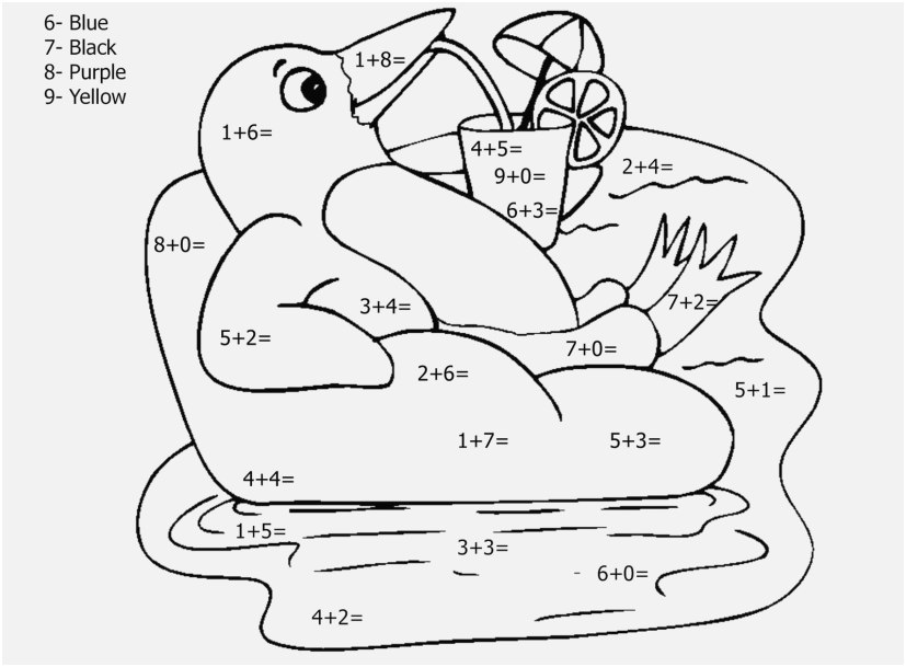 827x609 The Superior Display Printable Number Coloring Pages Top