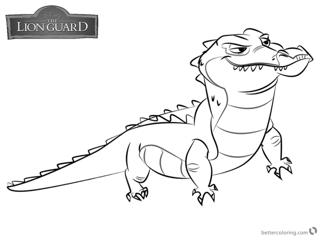 1024x760 Lion Guard Coloring Pages Makuu