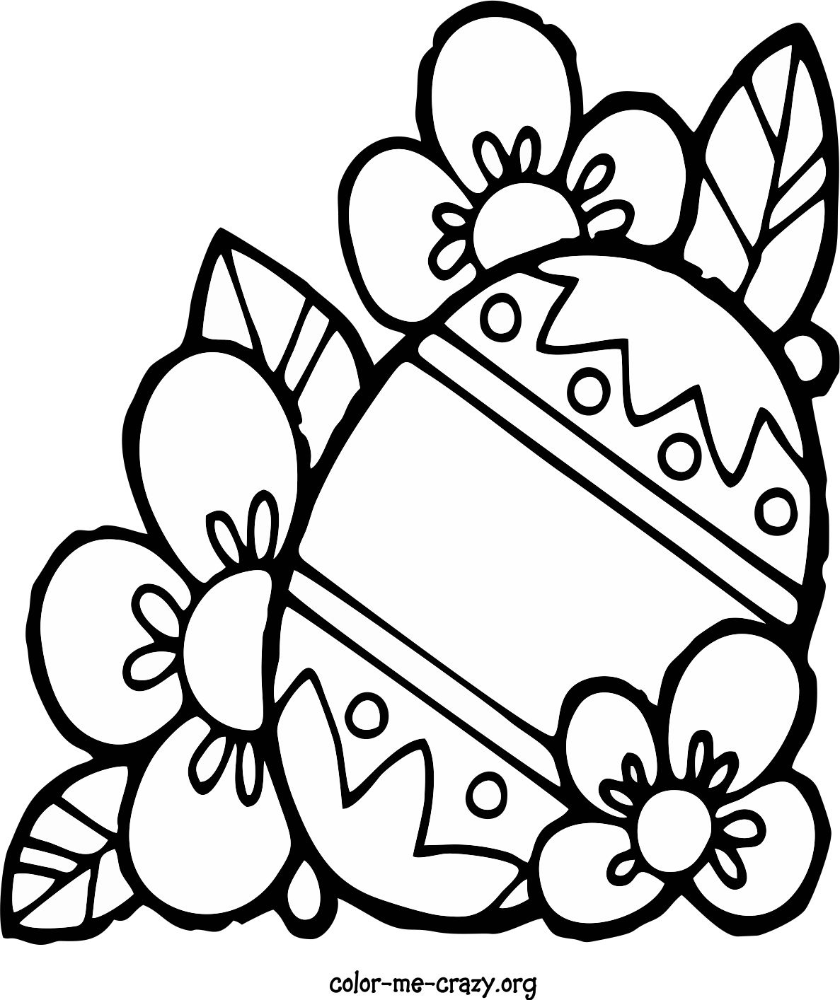 Color Me Crazy Coloring Pages