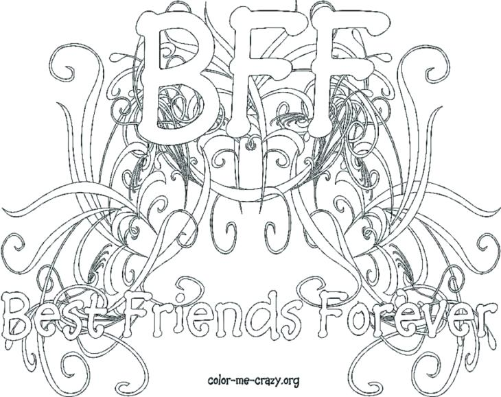 730x579 Best Friend Coloring Pages To Print Wonderful Best Friends
