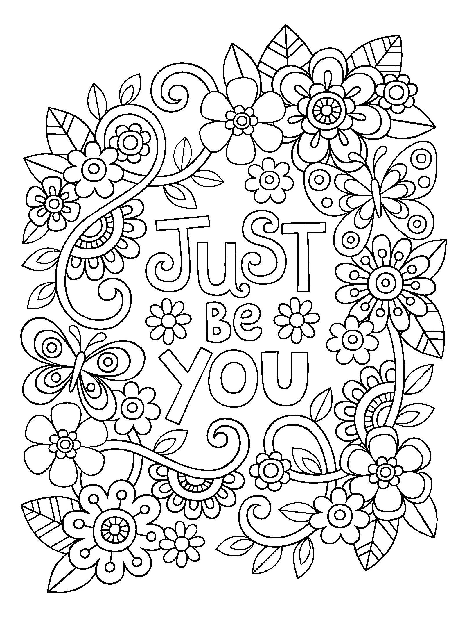 Color Me Happy Coloring Pages at GetDrawings | Free download