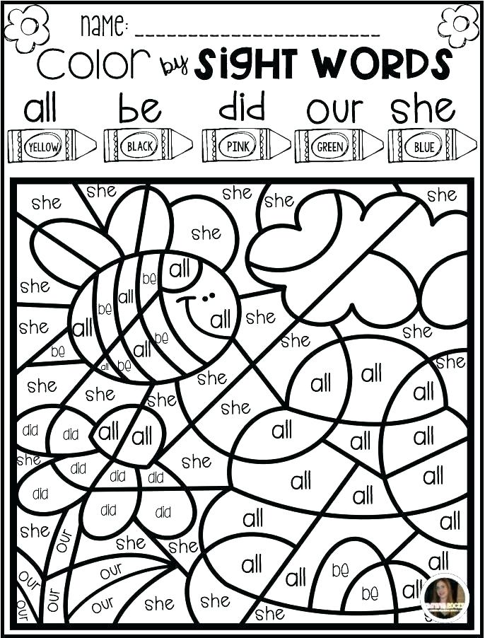 686x902 Sight Word Coloring Page Pages Si On Sight Word Coloring Pages
