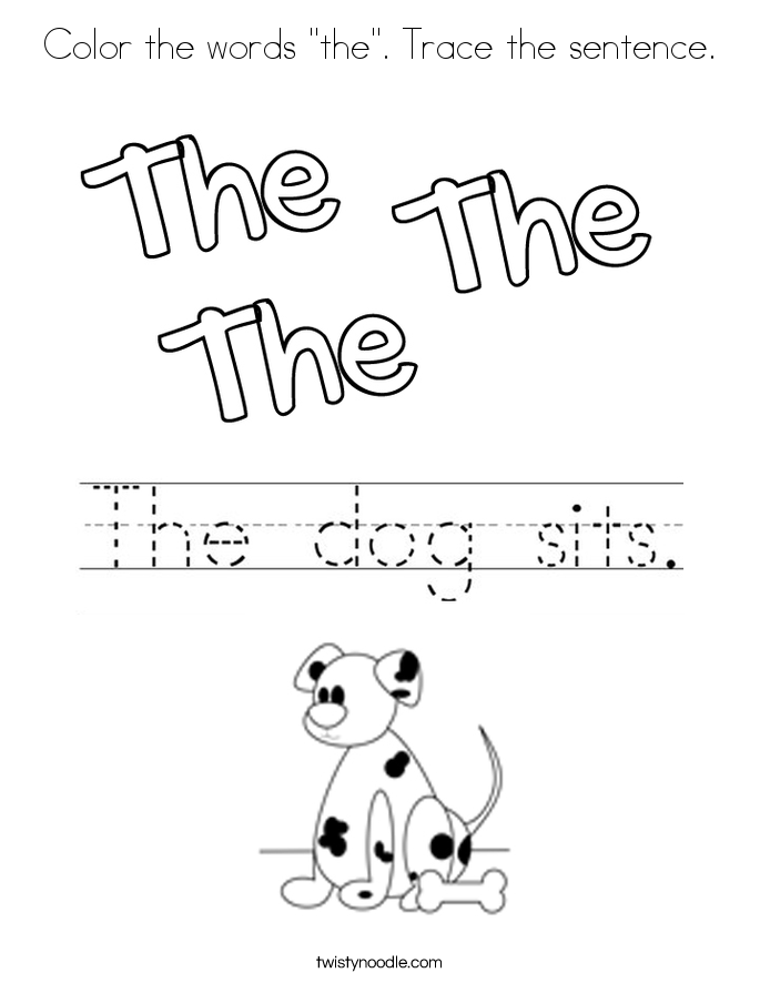 685x886 Sight Words Coloring Pages