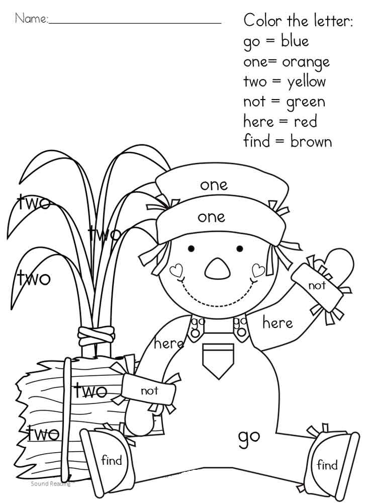 750x1000 Sight Words Coloring Pages Twisty Noodle For Kids