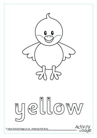 320x452 Printable Coloring Page Yellow Plus Printable Coloring Page Yellow