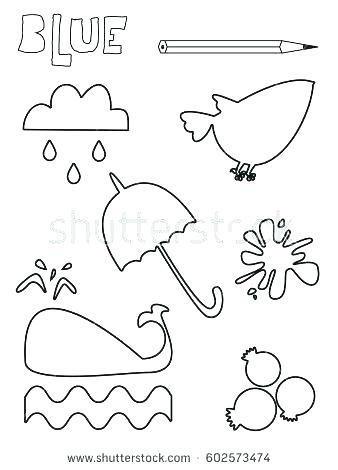 338x470 Yellow Coloring Page Crayon Coloring Page Blue Coloring Sheet