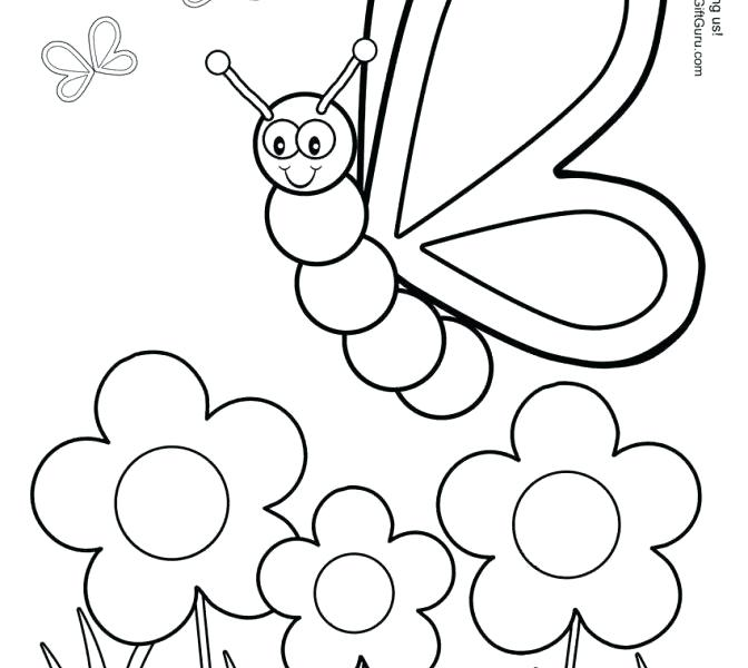 672x600 Yellow Coloring Page Painting Worksheets For Kindergarten Yellow