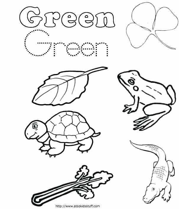 606x706 Green Coloring Pages Color Yellow Worksheets Yellow Coloring Pages