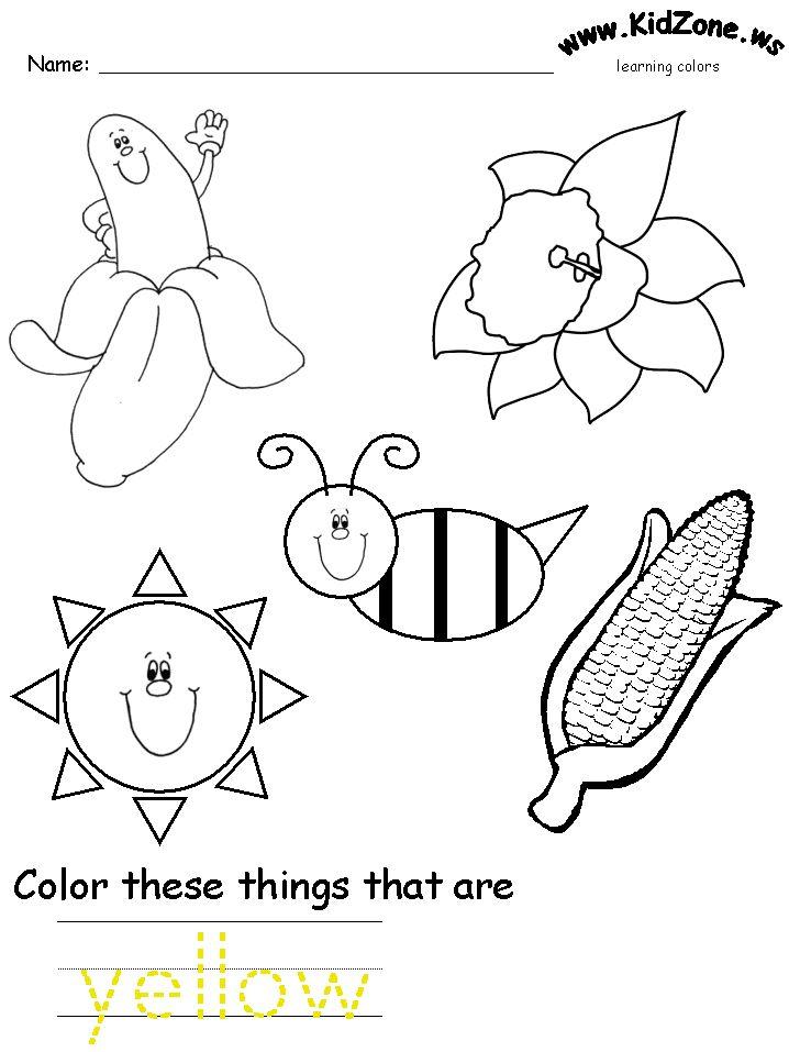 718x957 Image Result For Preschool Color Activities Preschool