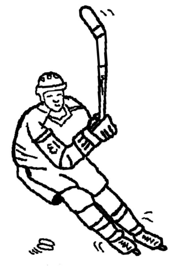 600x965 Ice Hockey Coloring Page Ice Hockey Ice Hockey