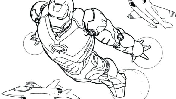 585x329 Iron Man Coloring Page Coloring Pages Drawings Colour Me Iron Man