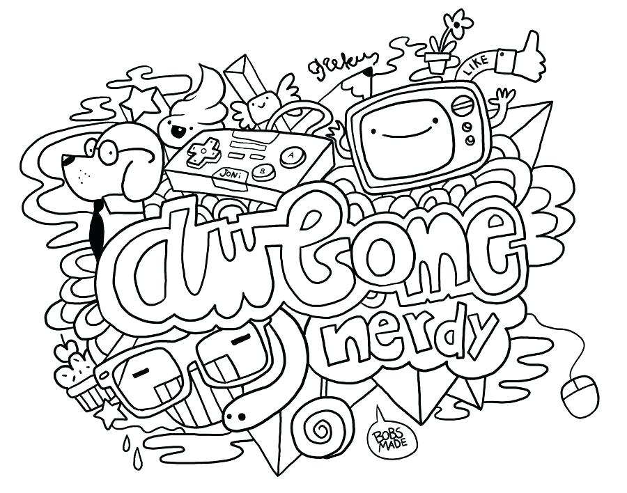 The Best Free Doodle Coloring Page Images Download From 997