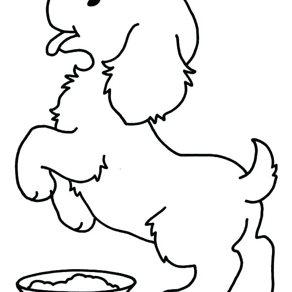 600x600 Puppy Color Pages Coloring Page Cute Puppy Colouring Pages