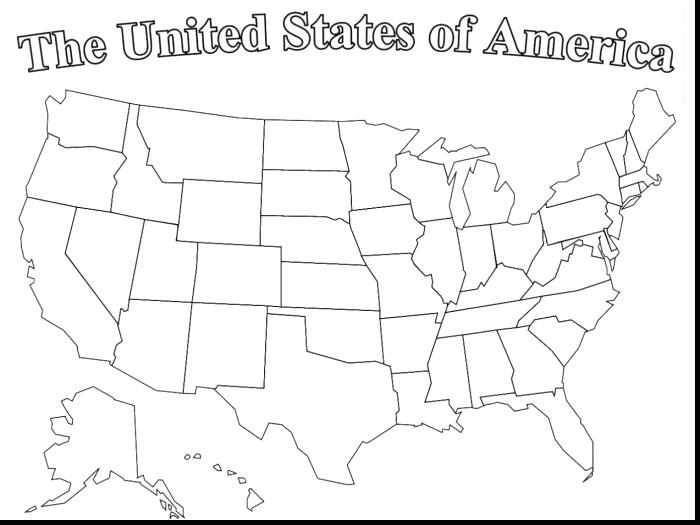 700x525 Us Map Coloring Page Us Map Coloring Page United States Color