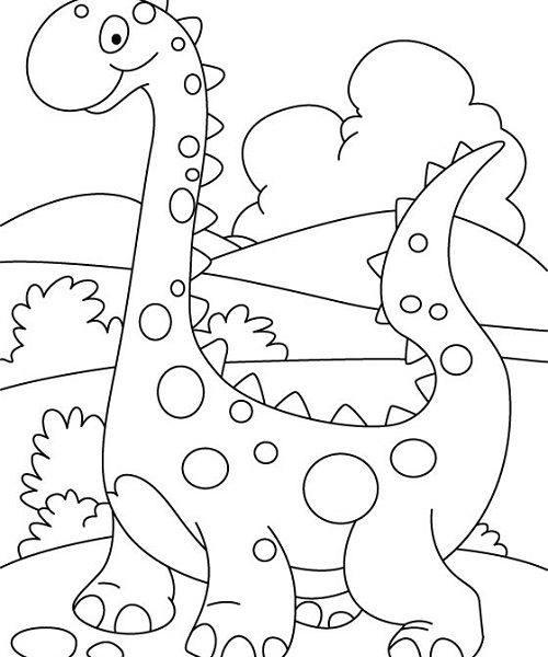 500x600 Coloring Page For Preschool Coloring Page