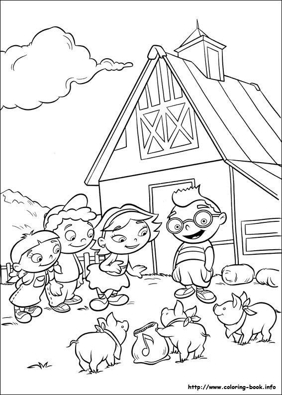 567x794 Little Einsteins Coloring Pages On Coloring