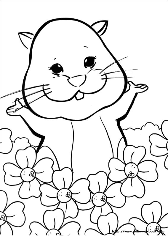 567x794 Zhu Zhu Pets Coloring Pages On Coloring
