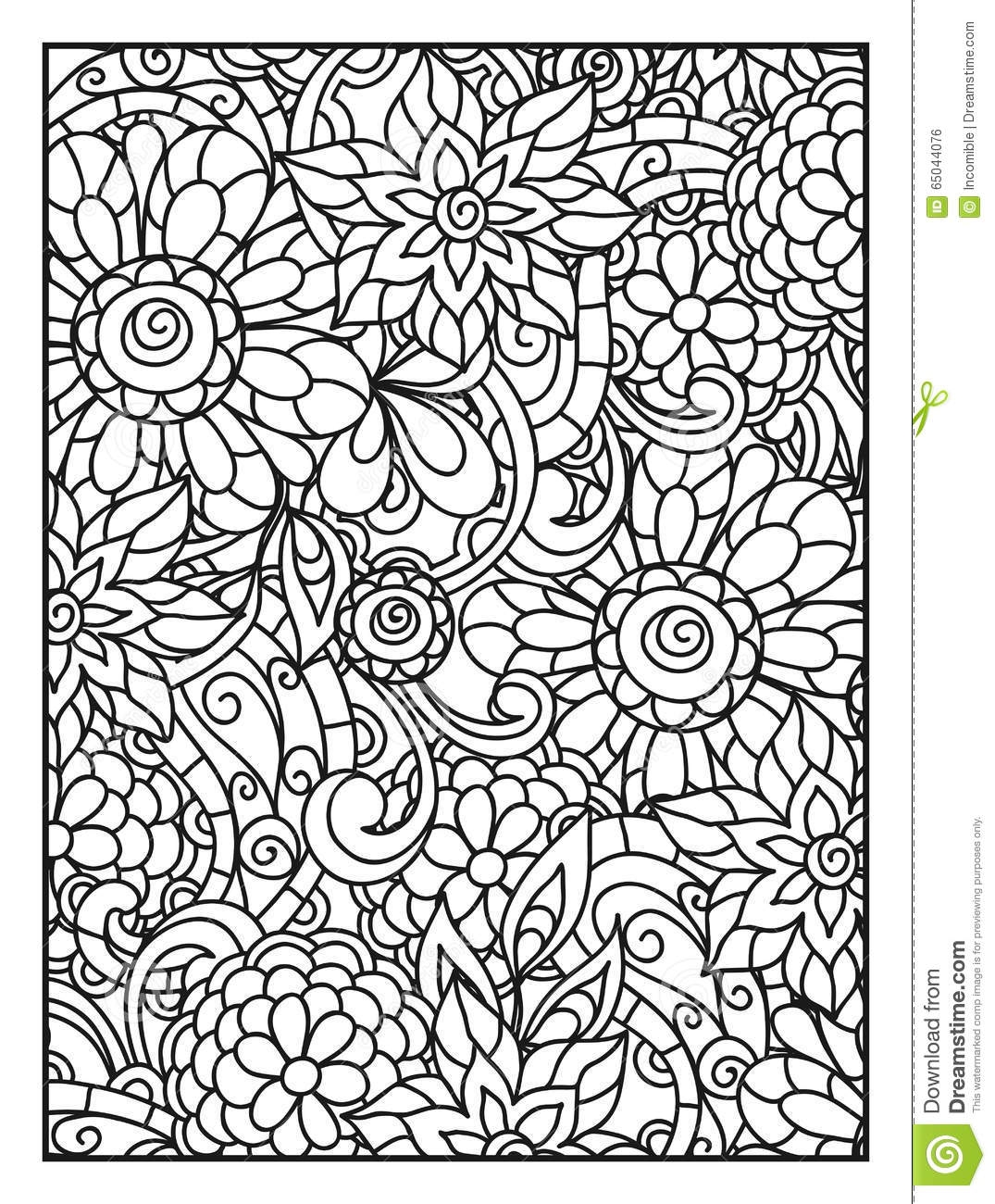 Coloring Page Background