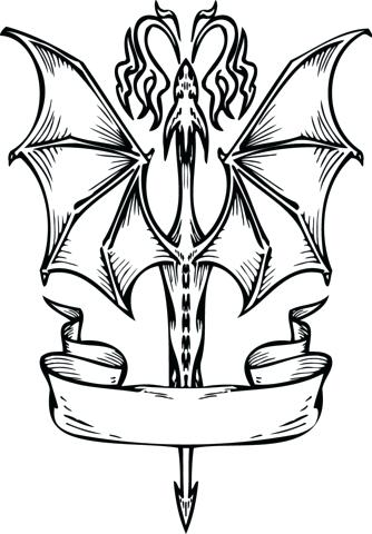 334x480 Banner Coloring Pages