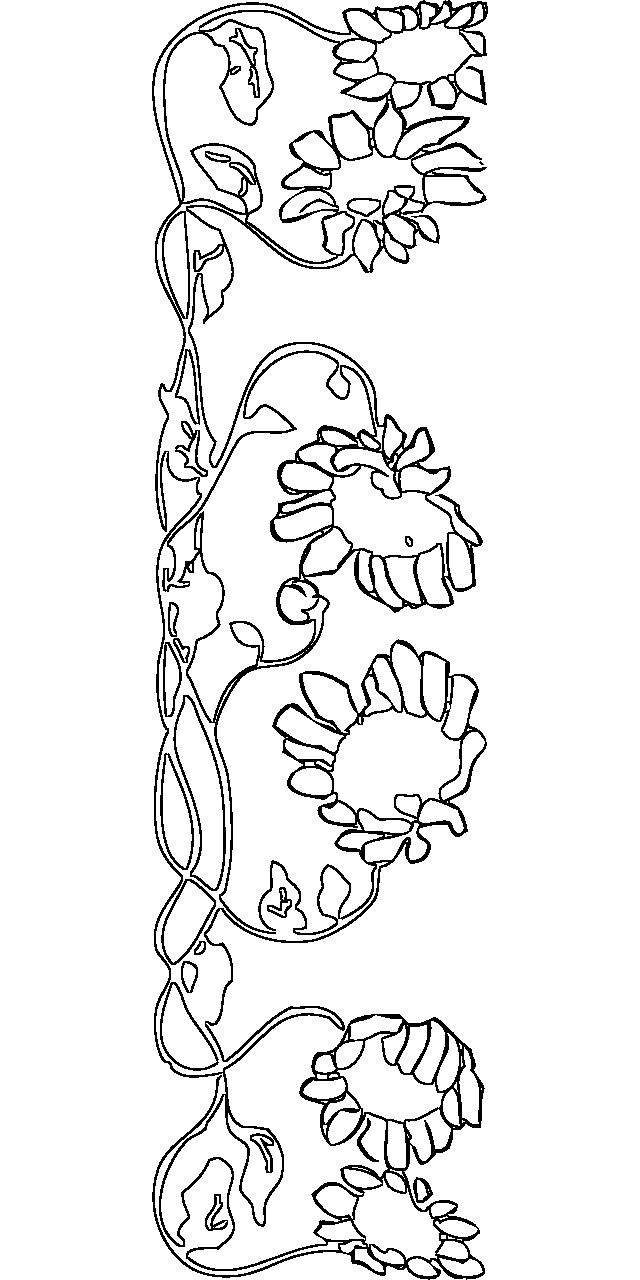 640x1280 Frames And Borders Coloring Pages