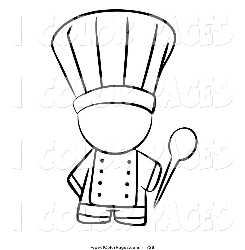 1024x1044 Fat Chef Coloring Pages Solus Hat Page Girl Muppets Swedish