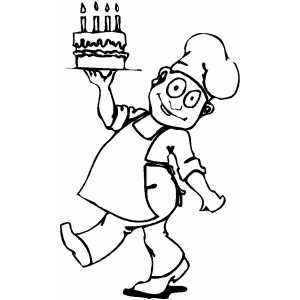 300x300 Top Chef Coloring Pages