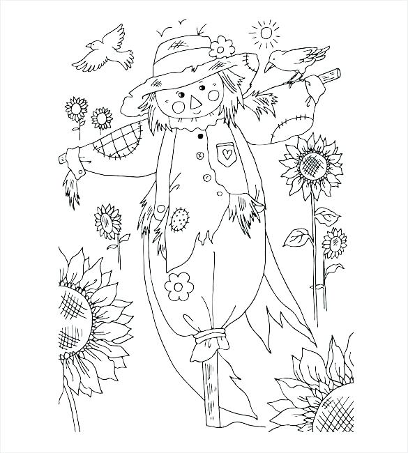 585x650 Autumn Leaves Coloring Pages Free Autumn Leaves Coloring Pages