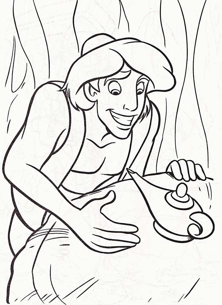 736x1010 Disney Magic Artist Coloring Pages