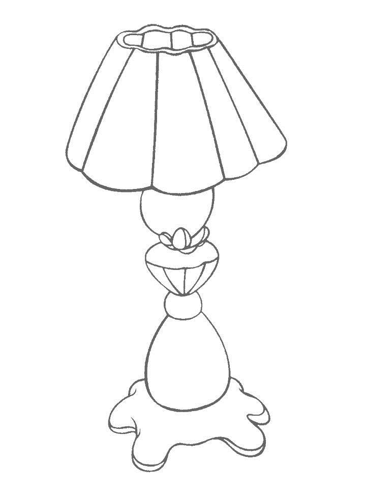 720x960 Best Photos Of Lamp Coloring Page