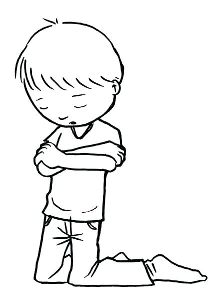 432x600 Child Praying Coloring Page Unique Praying Coloring Pages
