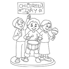 230x230 Top Children's Day Coloring Pages Your Toddler Will Love To Color