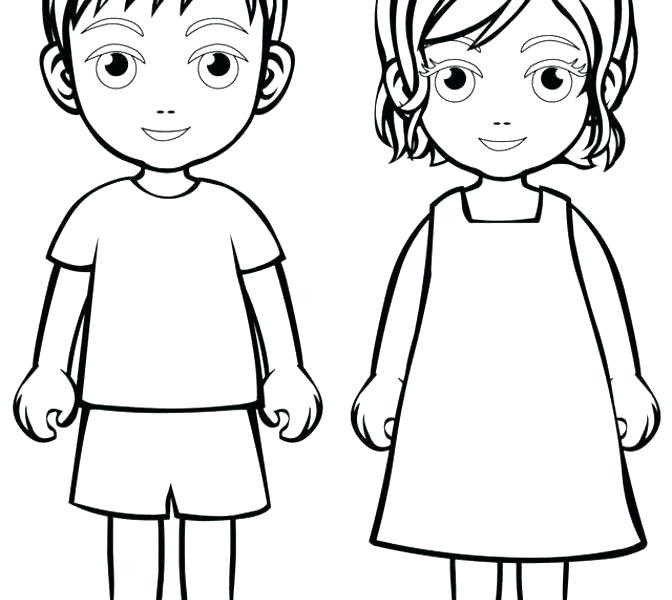 672x600 Child Coloring Page Child Coloring Page Children Coloring Page