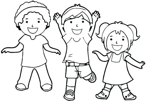 476x333 Child Coloring Page Child Coloring Pages Great Child Coloring