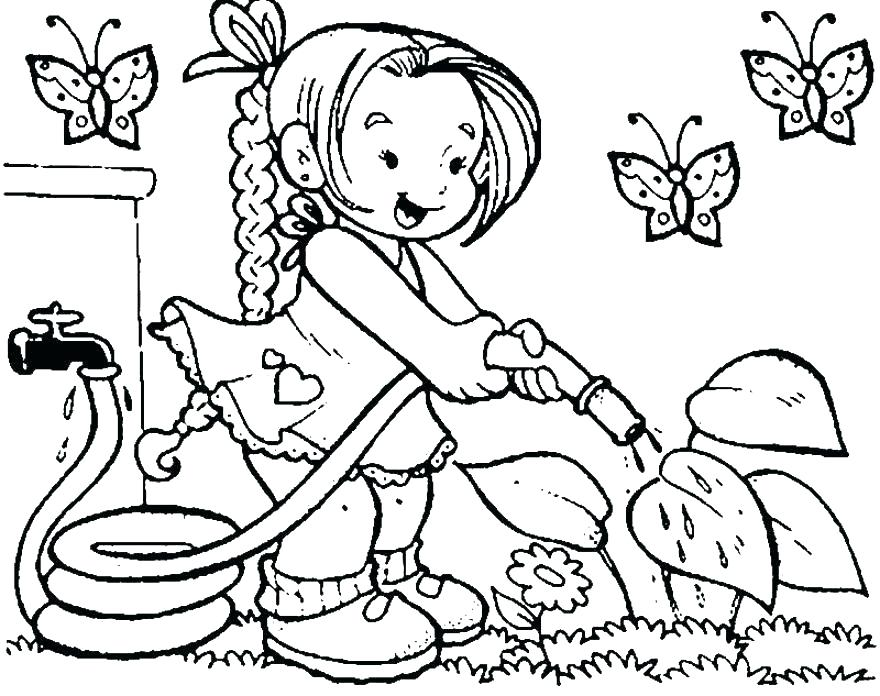 880x696 Child Coloring Page Coloring Pages Coloring Color