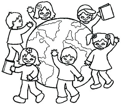 400x346 Child Coloring Pages Child Coloring Free Printable Coloring Pages