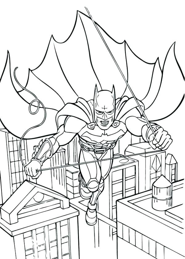 600x840 City Coloring Page City Coloring Pages Batman City Coloring Pages