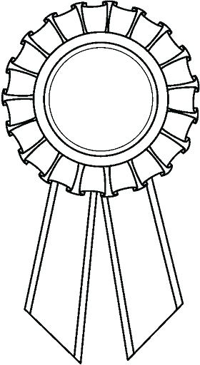 Coloring Page Ribbon