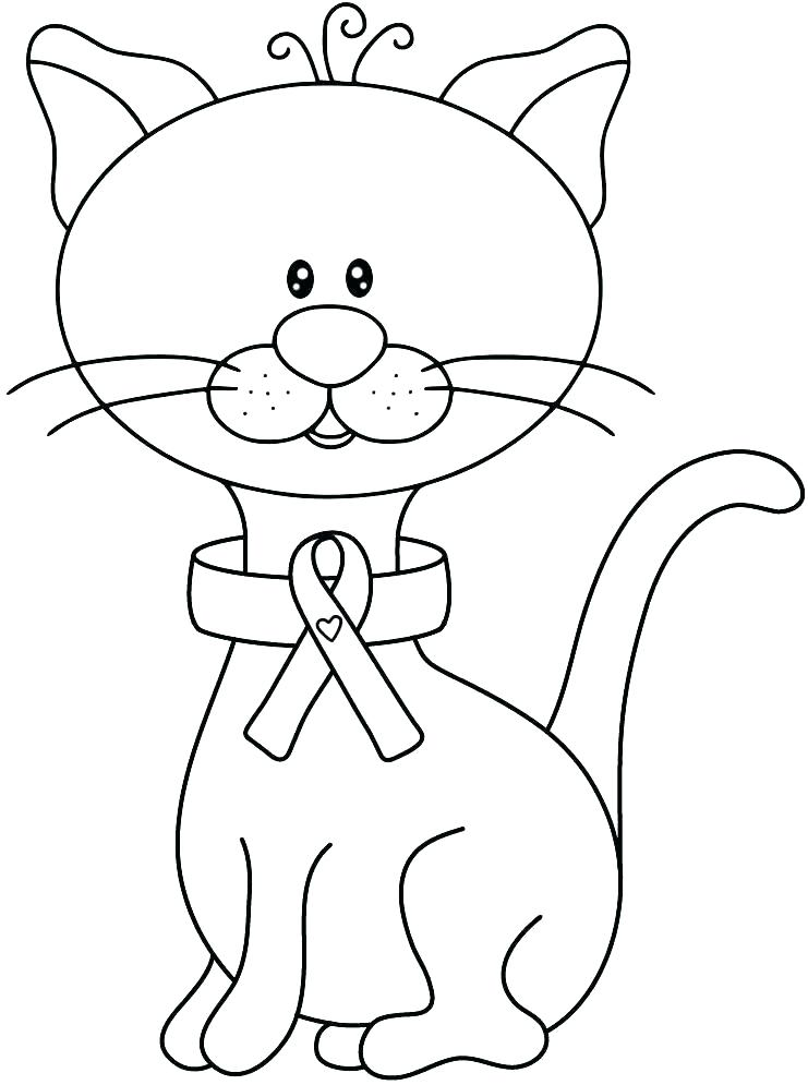 741x995 Drug Awareness Coloring Sheets Free Pages Ribbon Page As Fuhrer