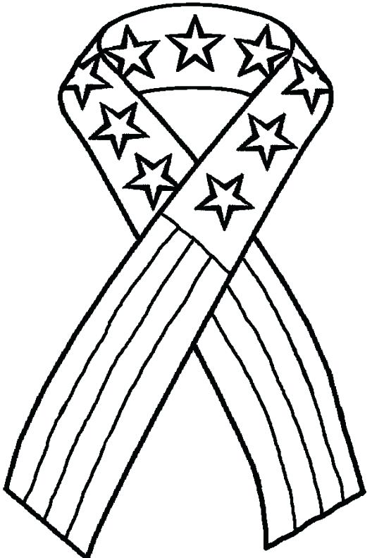 528x792 Red Ribbon Coloring Pages Ribbon Coloring Page Full Size