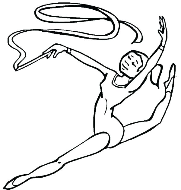 600x630 Red Ribbon Coloring Pages