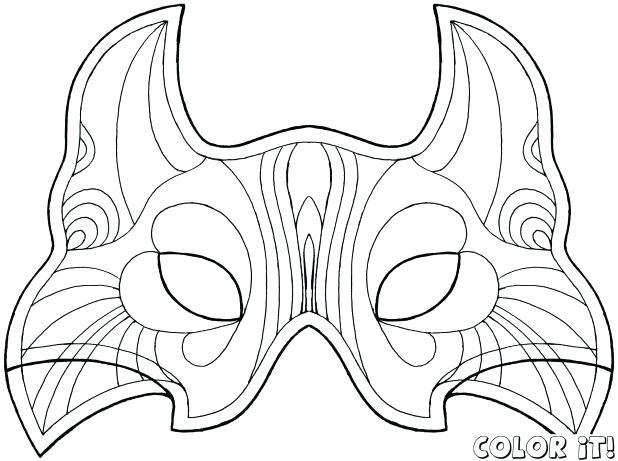 618x461 Catwoman Coloring Pages Bunch Ideas Of Cat Mask Coloring Page