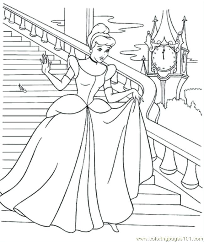 650x771 Cinderella Coloring Pages Coloring Page Coloring Page Cinderella
