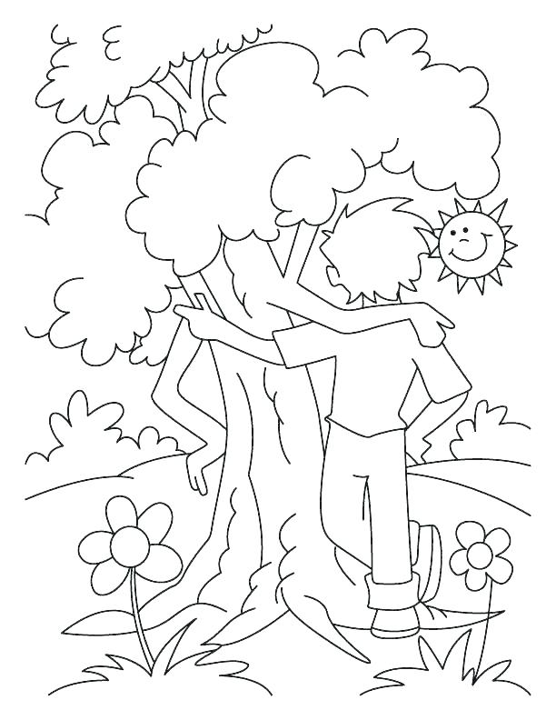612x792 The Giving Tree Coloring Pages Coloring Ideas Pro