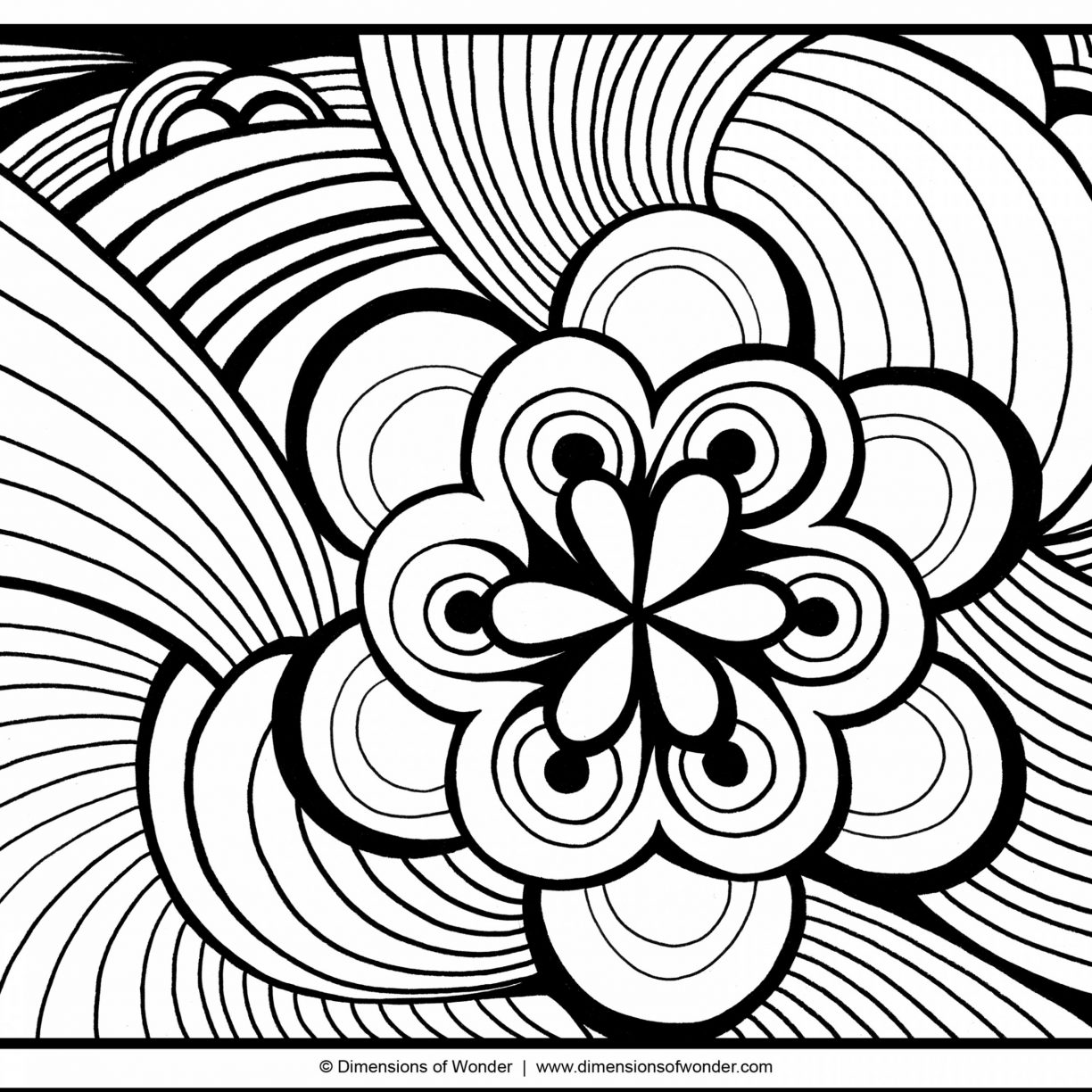 1224x1224 Abstract Coloring Pages You Can Get Art Of Printable Adult Free